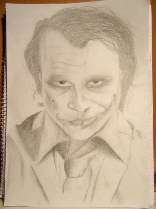 Heath Ledger par Pajasam12